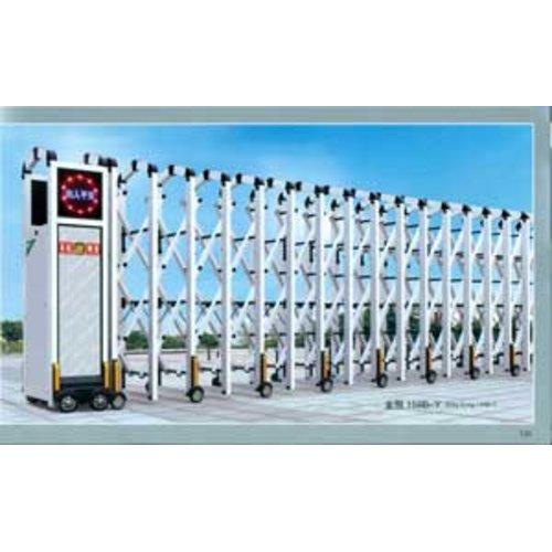Cổng xếp tự động Hợp kim nhôm HMN-01
