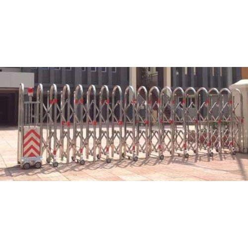 Cổng xếp inox model HMV-04
